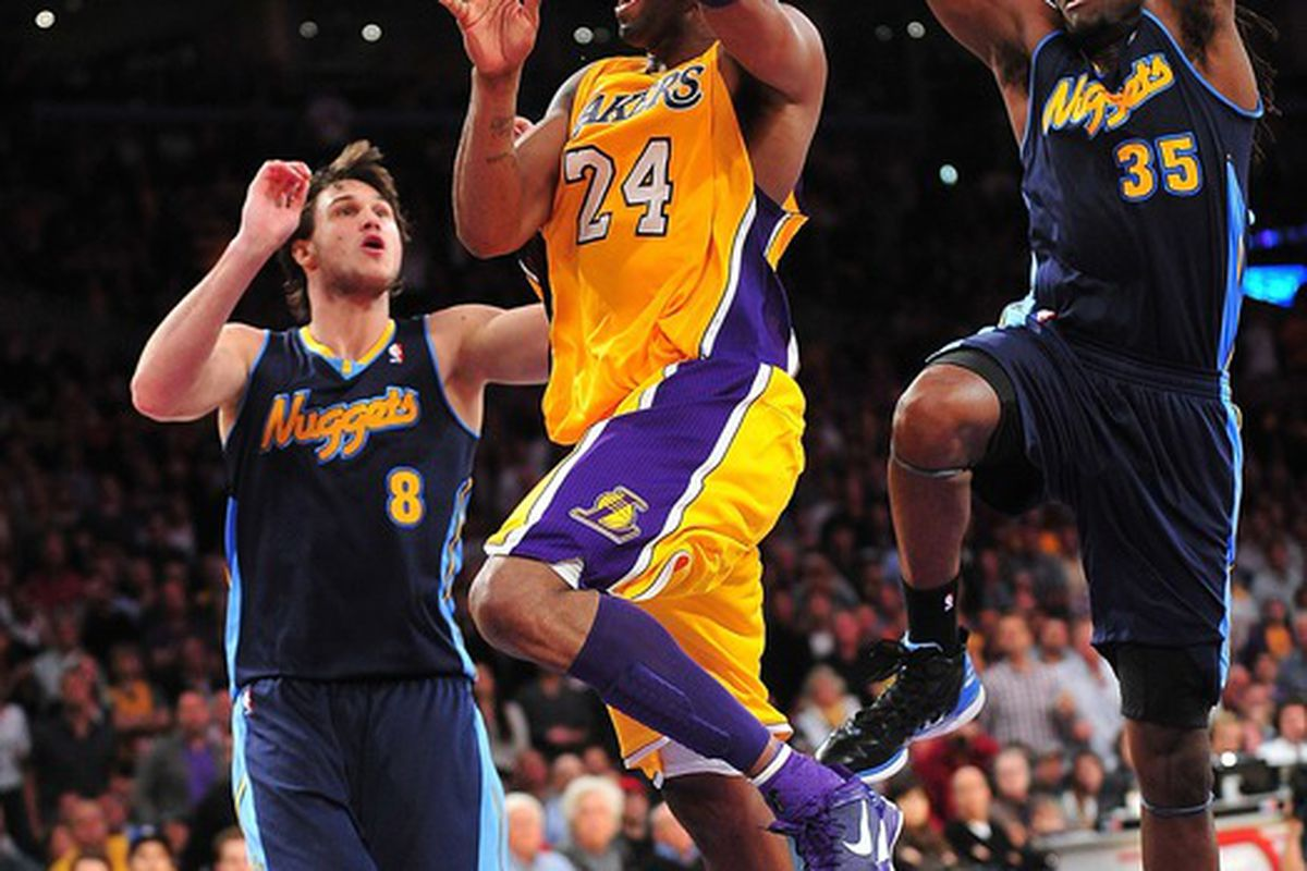 Gallo and the Manimal will once again try to contain the great Kobe Bryant on Tuesday night.