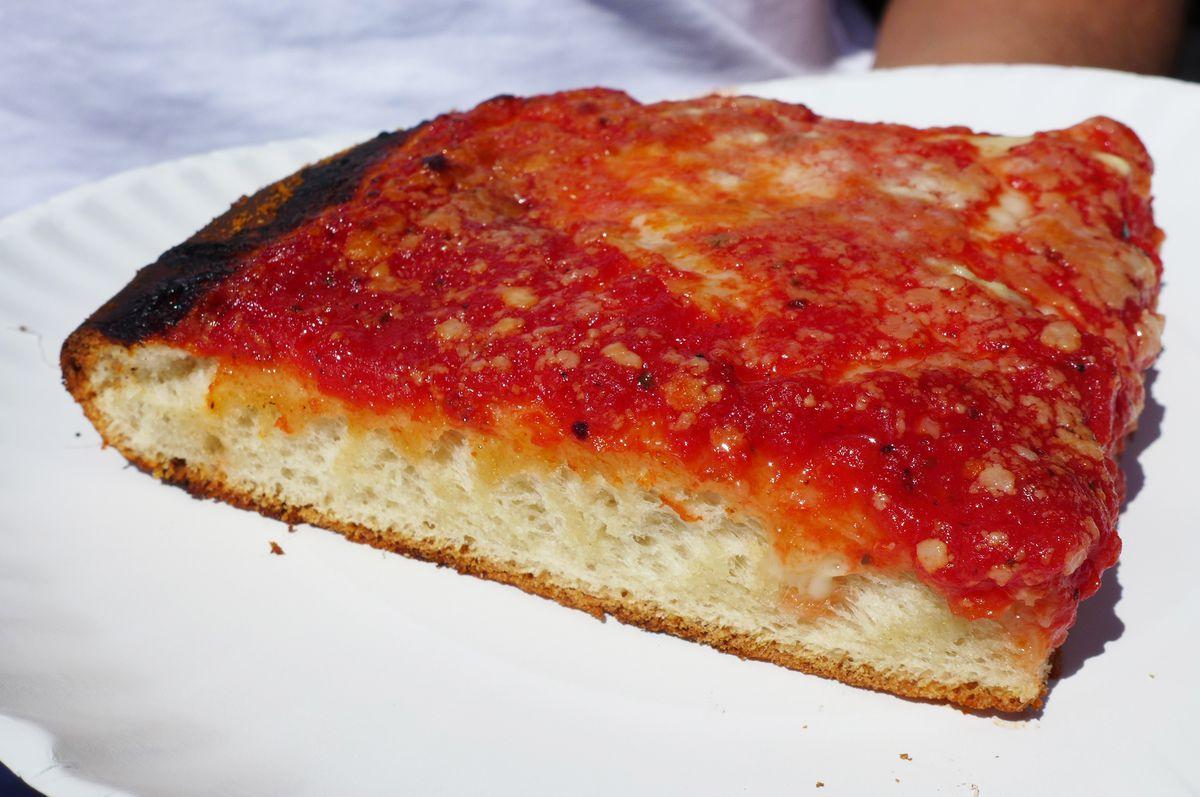 Square slice