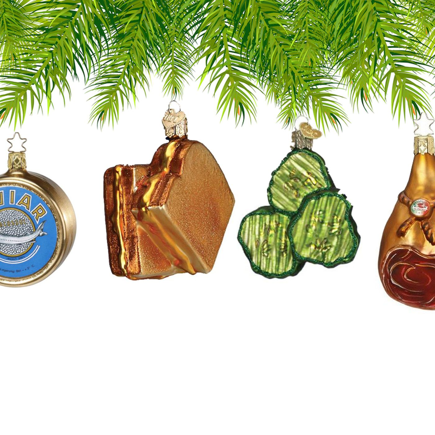 Food Themed Christmas Ornaments Have Zero Calories And Oodles Of Yuletide Spirit Eater