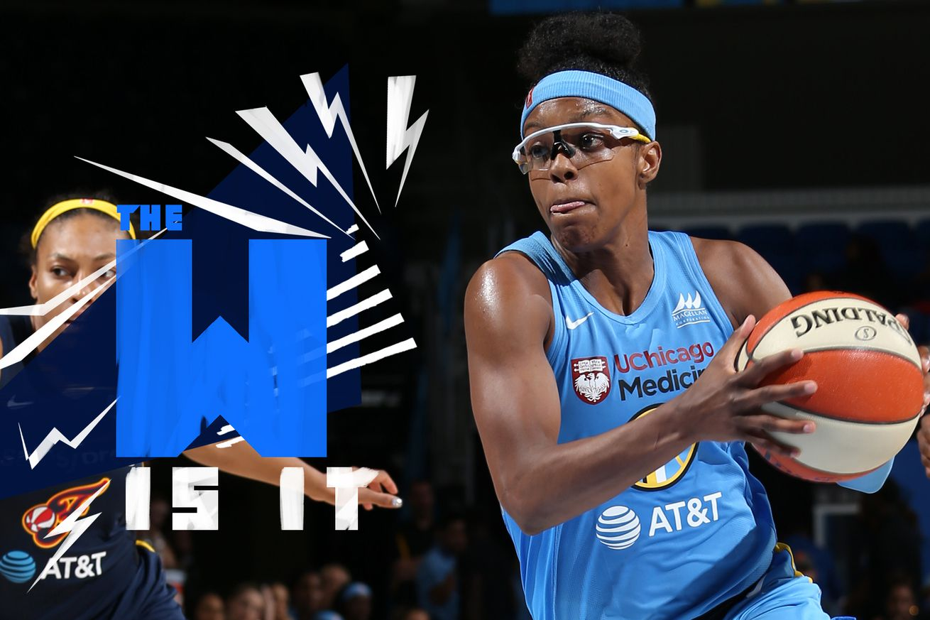 the w is it  1   1 .0 - It's time to join the Chicago Sky bandwagon