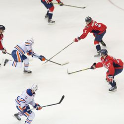 Oilers Advancing on Capitals