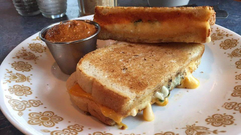 Grilled cheese at Bouldin Creek