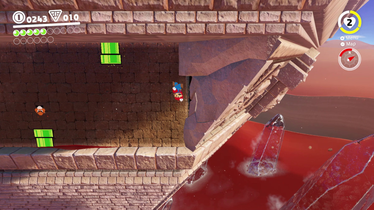 Super Mario Odyssey Guide Sand Kingdom All Power Moon
