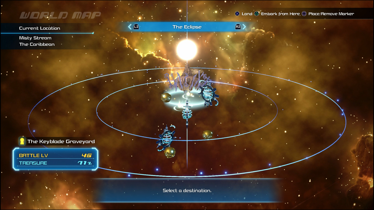 Kingdom Hearts 3 galaxy and world order guide - Polygon