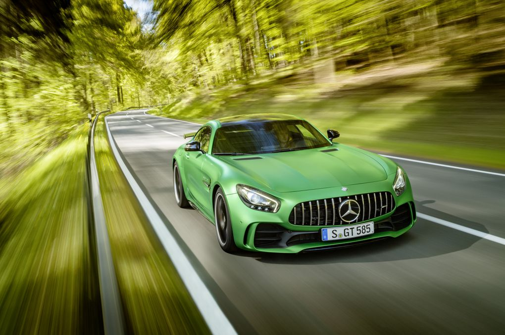 The New AMG GT R Is MercedesBenzs Most Hardcore Sports Car The - The new sports car