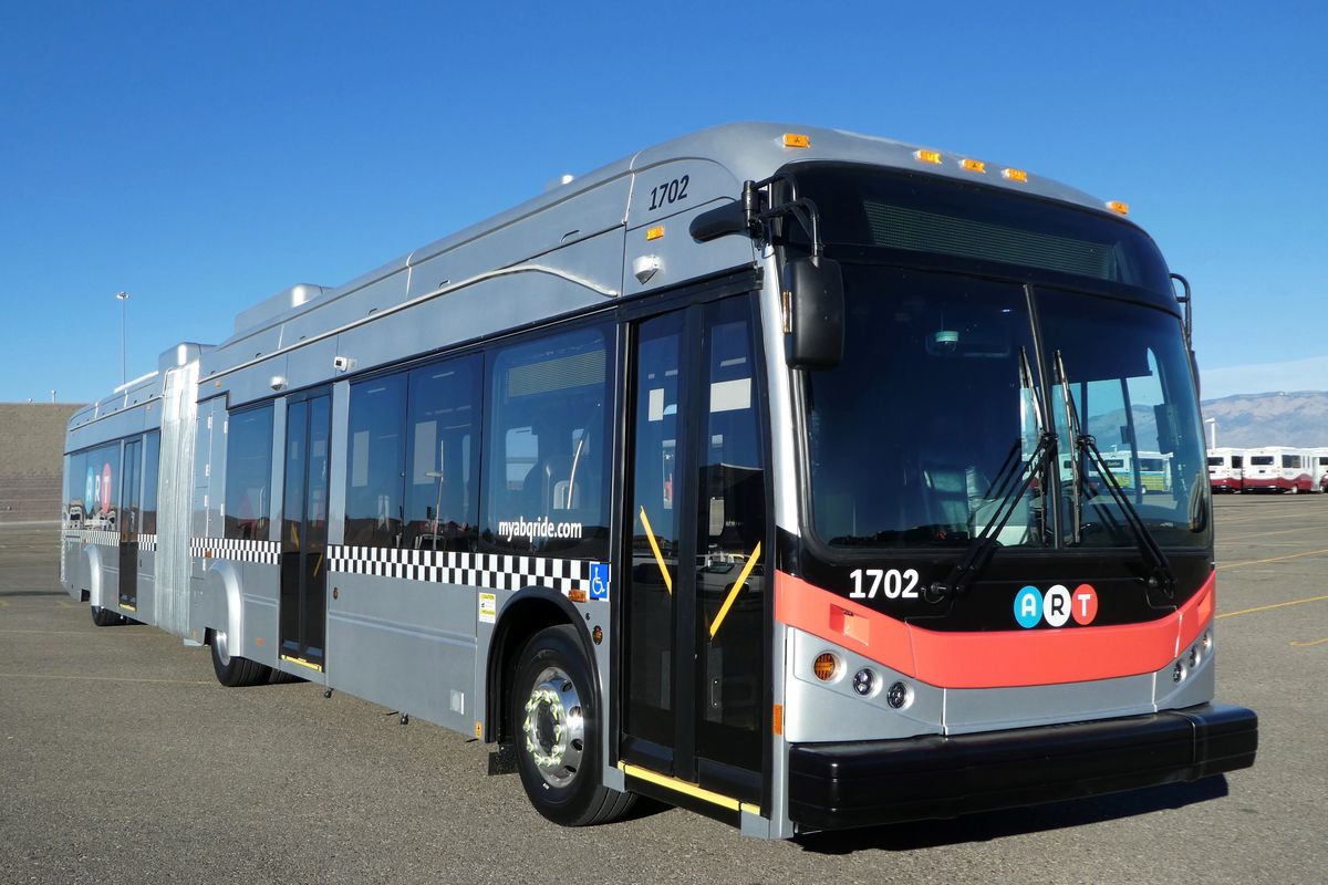albuquerque's new all-electric bus rapid transit system - curbed