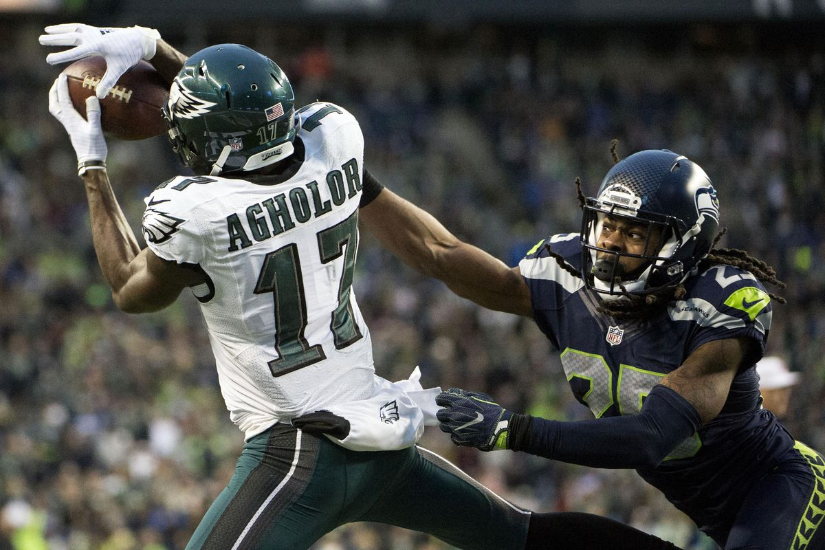 8e04e3a8aca Nelson Agholor wore out his welcome with the Eagles in less than 2 years