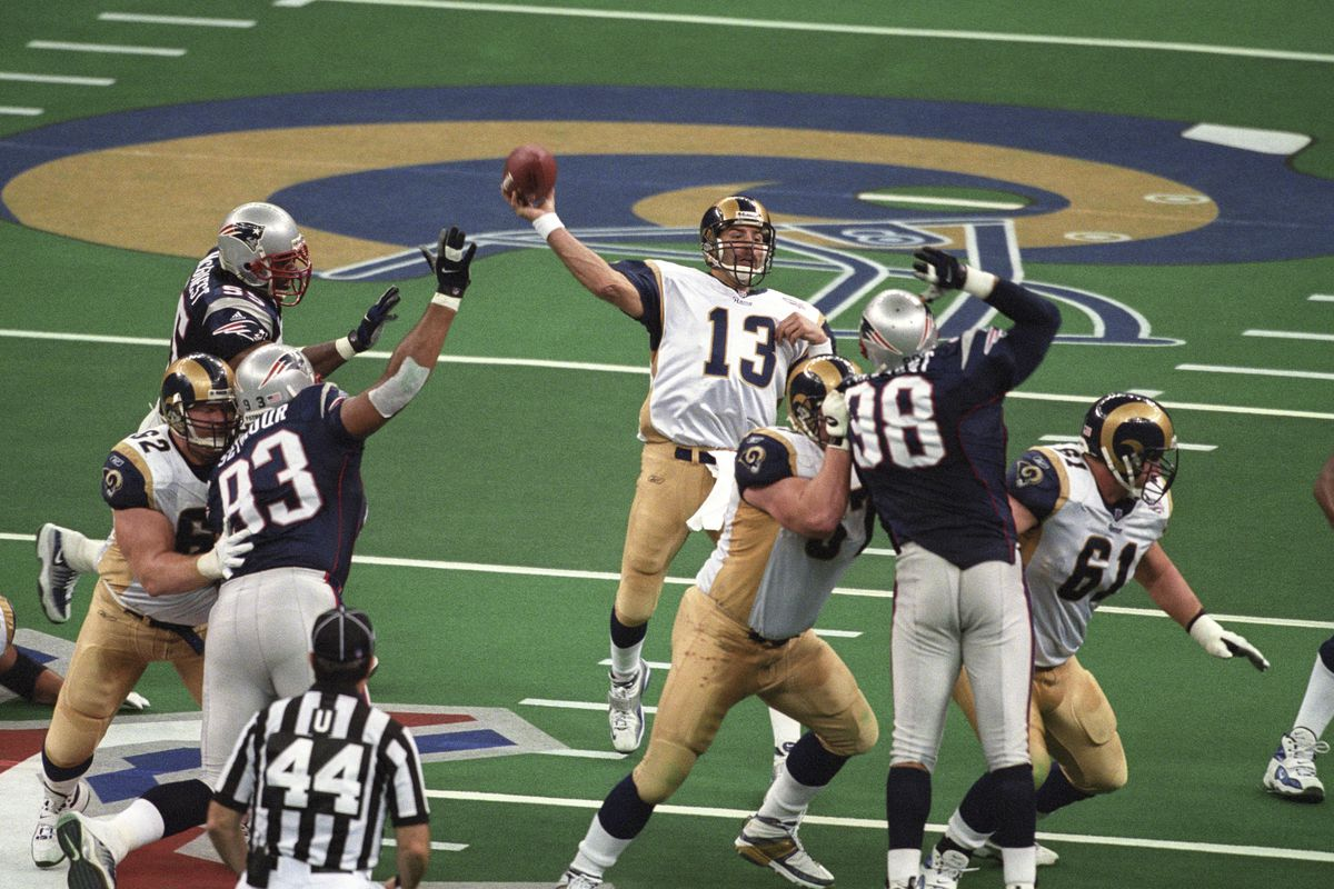 St. Louis Rams v New England Patriots