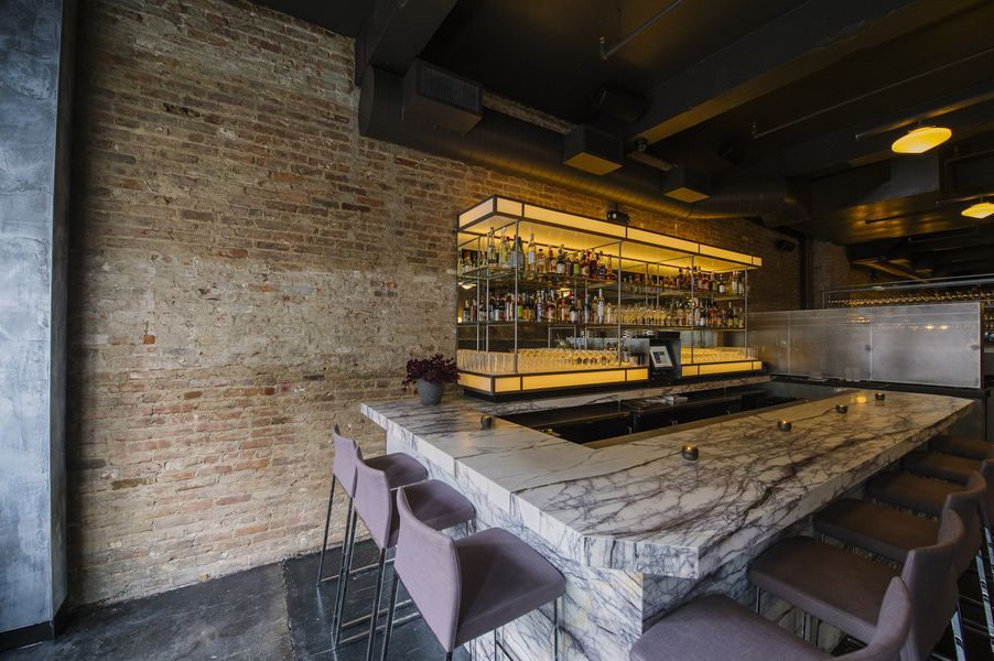 [The bar at Rebelle] Photo by Daniel Krieger