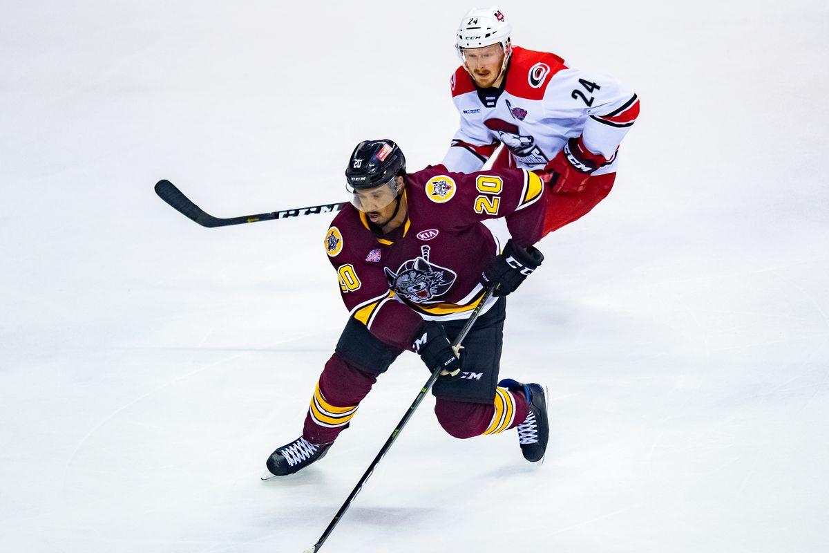 AHL: JUN 05 Calder Cup Final - Charlotte Checkers at Chicago Wolves
