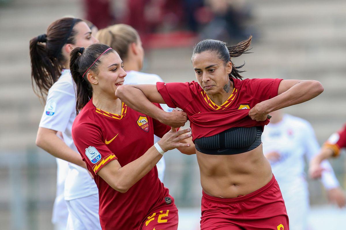 AS Roma v ACF Fiorentina - Women Serie A