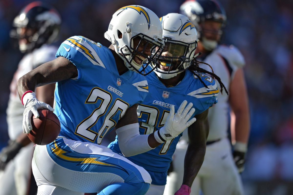 Los Angeles Chargers Casey Hayward Wins AFC Defensive Player of