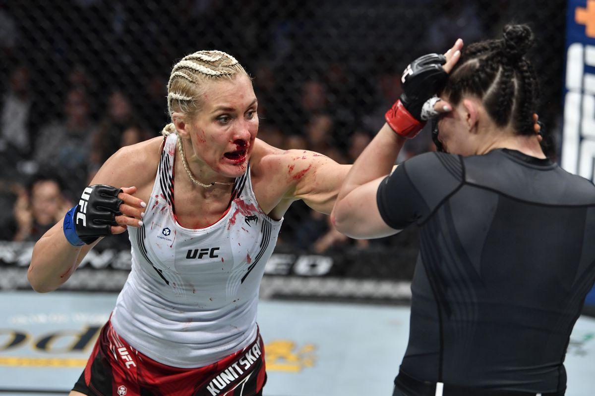 UFC 264: Aldana v Kunitskaya