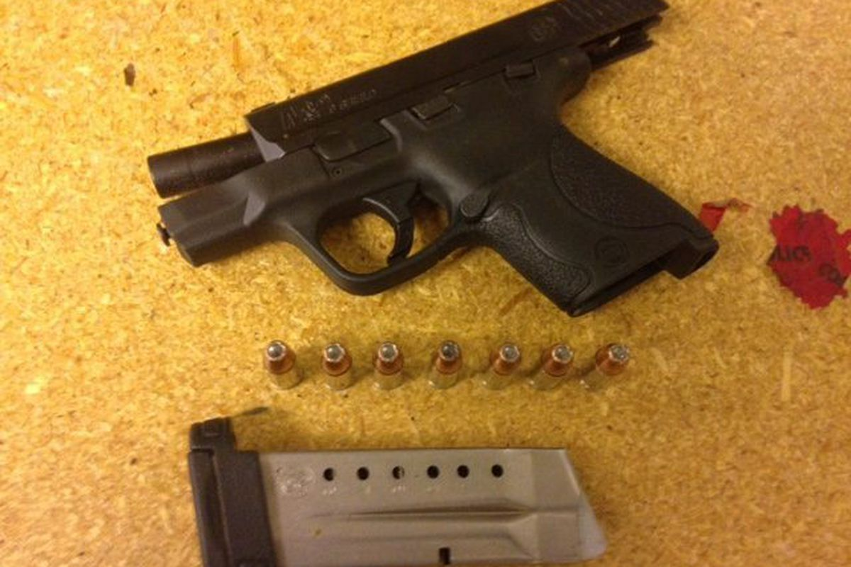 Felon charged after being found with loaded handgun in Ford