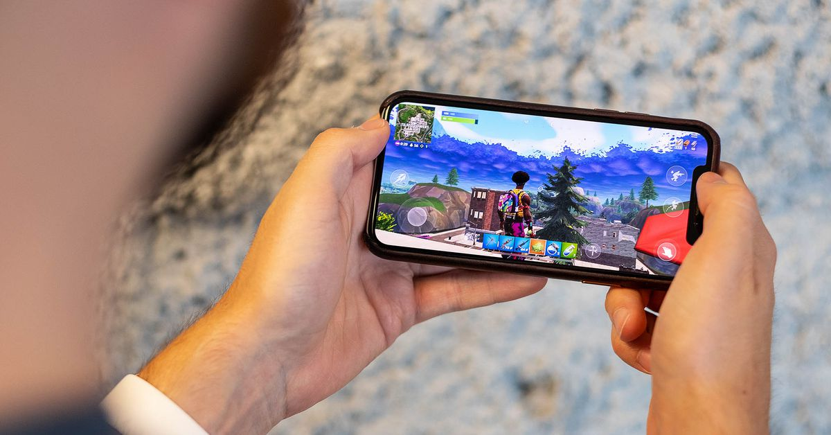 Fortnite will reportedly be playable on iOS again through Nvidia's GeForce Now