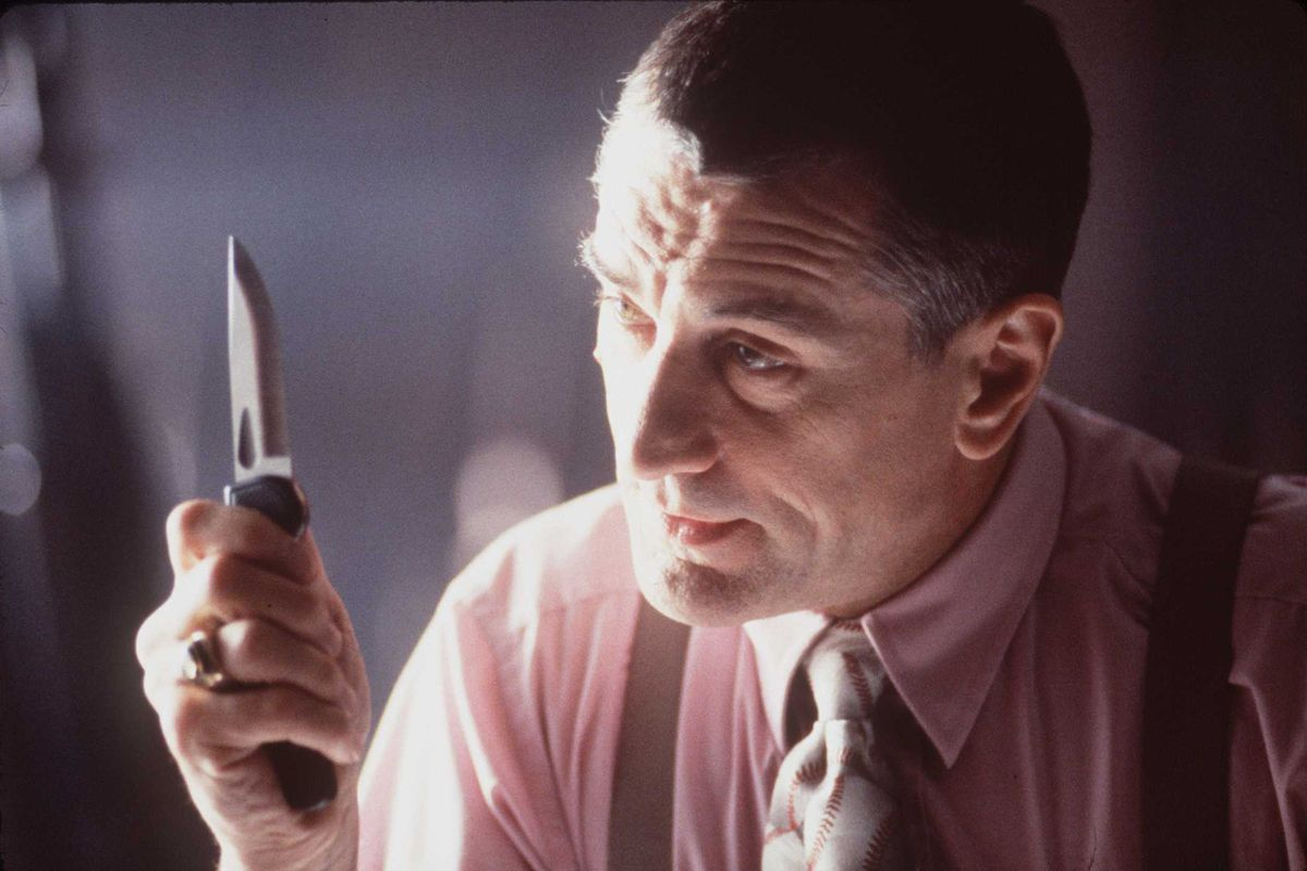 """1996 Robert DeNiro Stars as a fan whose obsession with his favority celebrity turns deadly""""."""