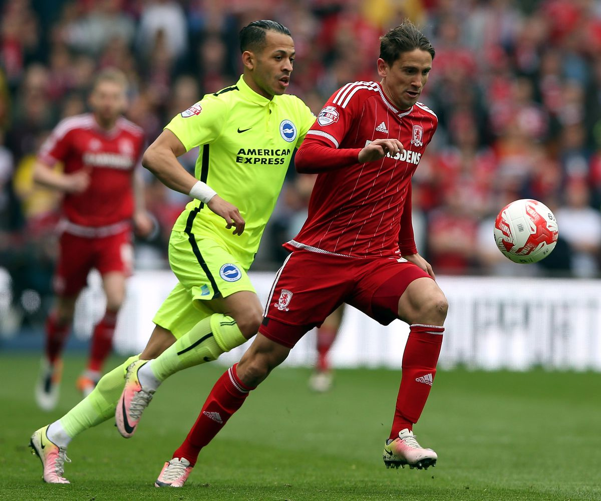 Middlesbrough v Brighton and Hove Albion - Sky Bet Championship