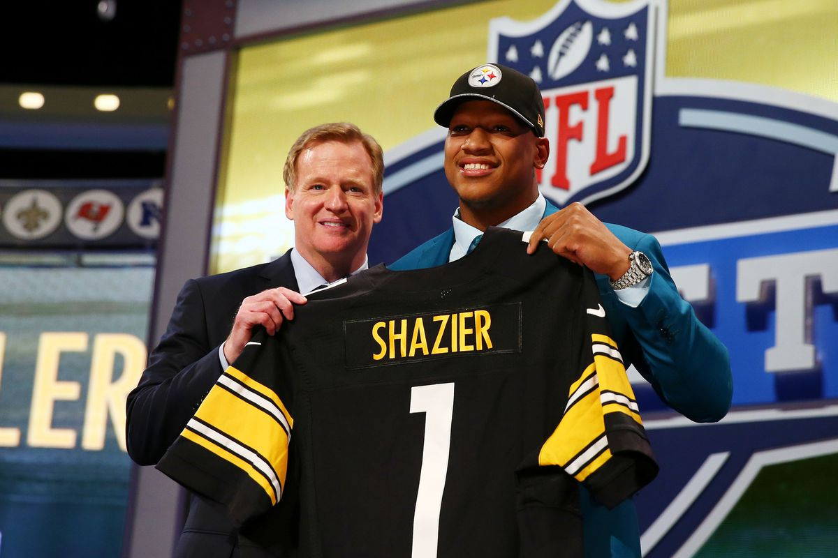 Ryan Shazier given No. 50 jersey by Steelers - Behind the Steel ...