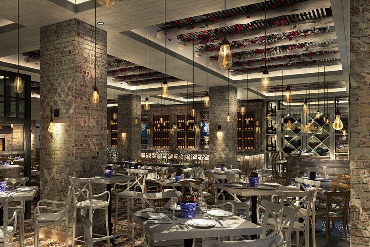 Rendering of Brasserie Azur