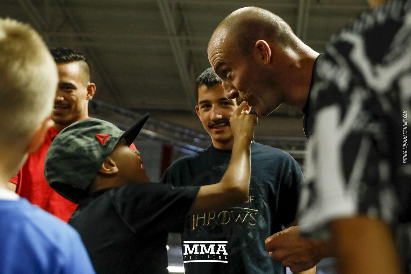UFC on FOX 25 open workout photos