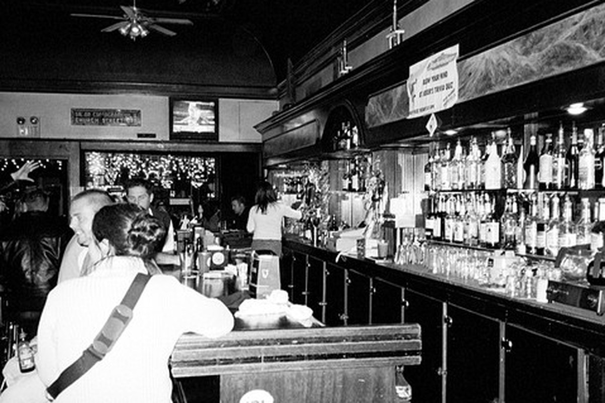 A night at the bar.