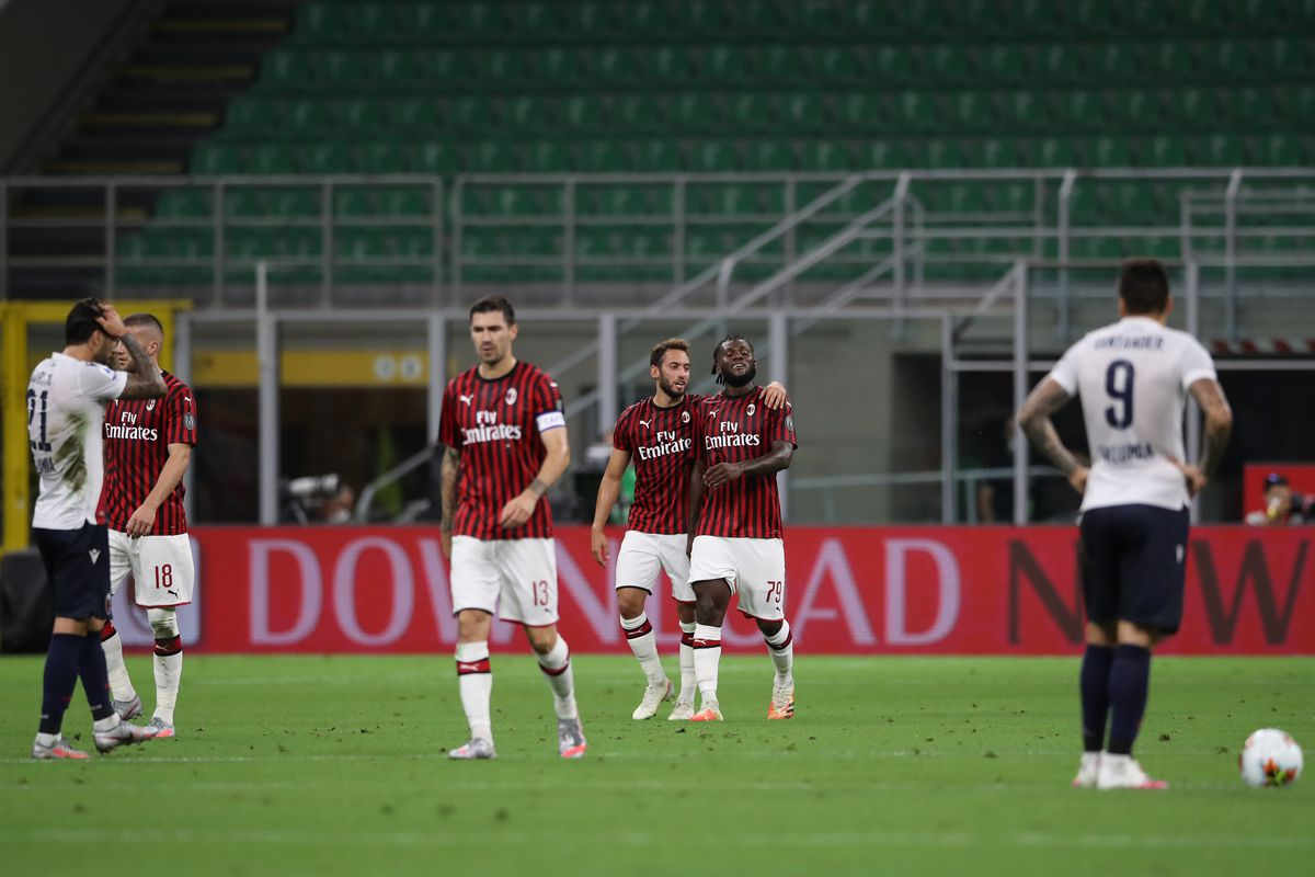 9 Things Is Ac Milan Good Now Ac Milan Vs Bologna F C 1909 5 1 The Ac Milan Offside