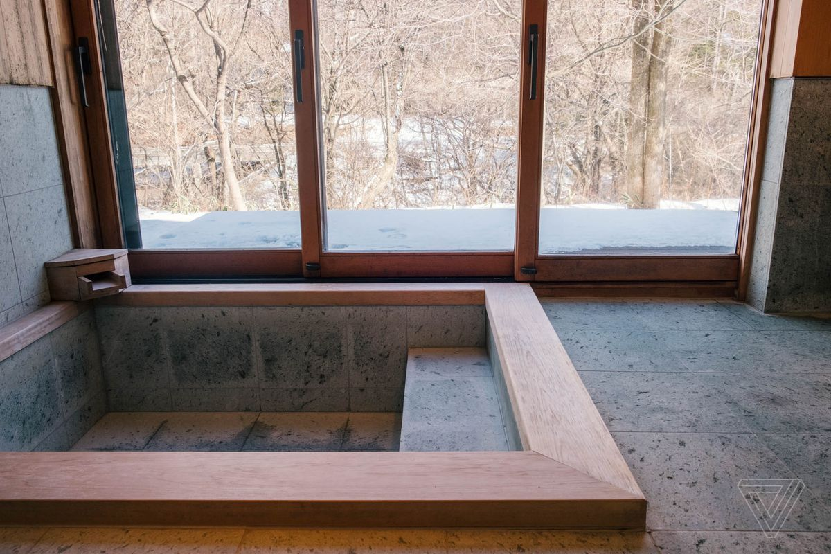 The Onsen Style Bathroom