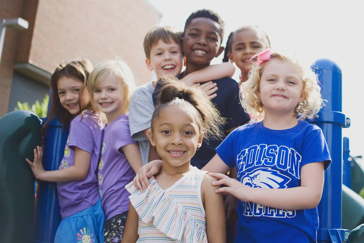 Edison Regional Gifted Center was one of two Chicago schools to win federal Blue Ribbon honors in 2018. It submitted this photo to the U.S. Education Department, which runs the competition.
