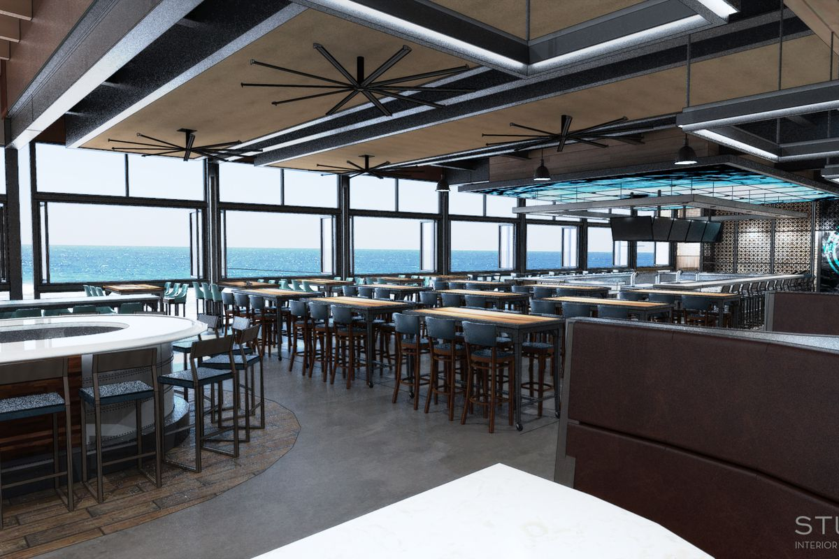 Pacific Beach S Waterbar Touches Down In December Eater