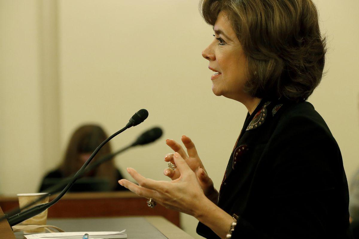 SBA chief Maria Contreras Sweet