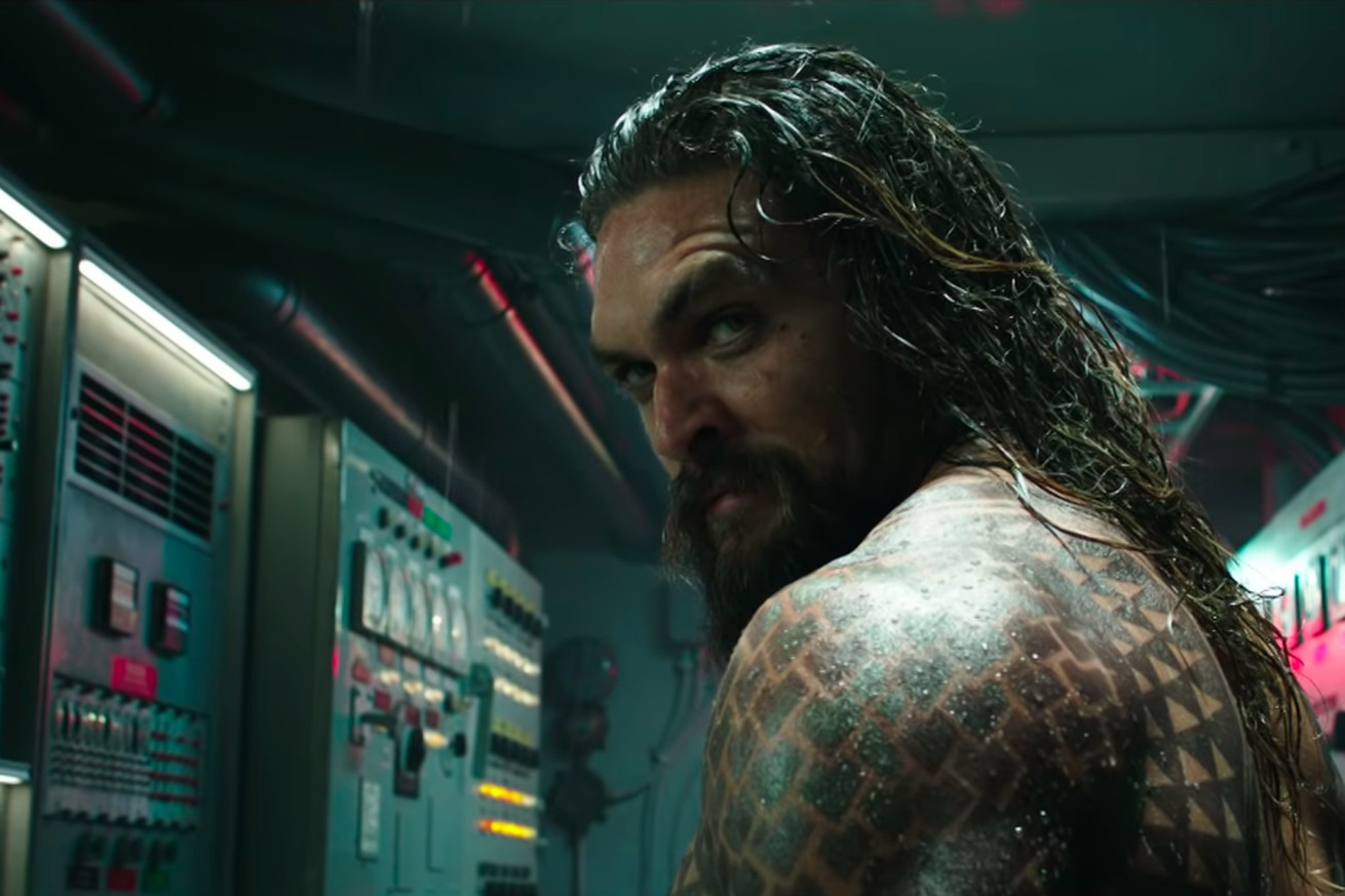 the first trailer for dc s aquaman shows off a war between the surface and the sea