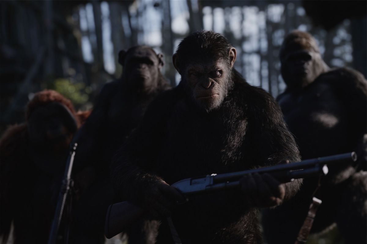 planet of life apes to man