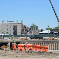 10:47 a.m. Wider view of area in previous photo -