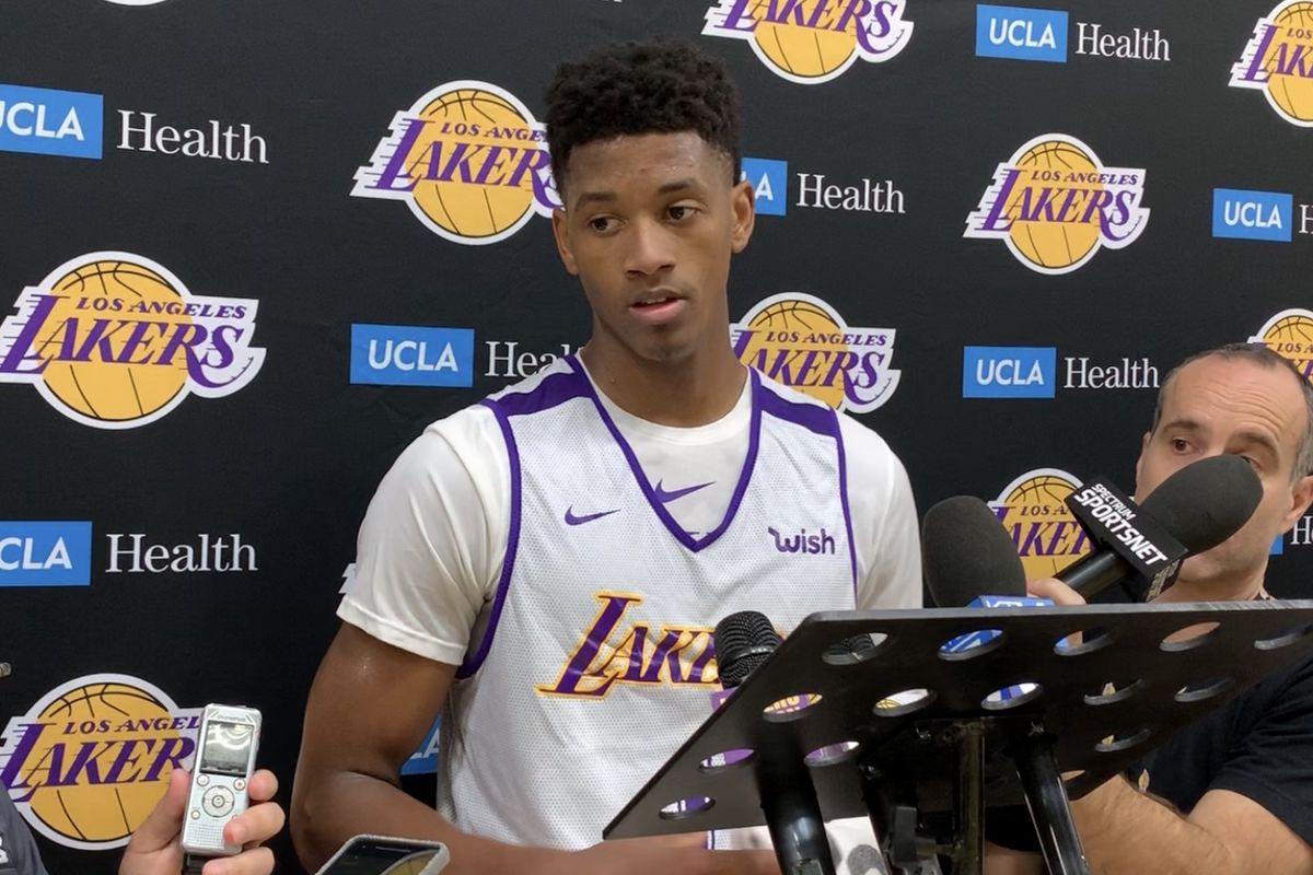 huge selection of cfbfc 67ca8 2019 NBA Draft: Jarrett Culver wants show Lakers he can be ...