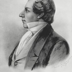 Joseph Smith papers, drawing by Weggland