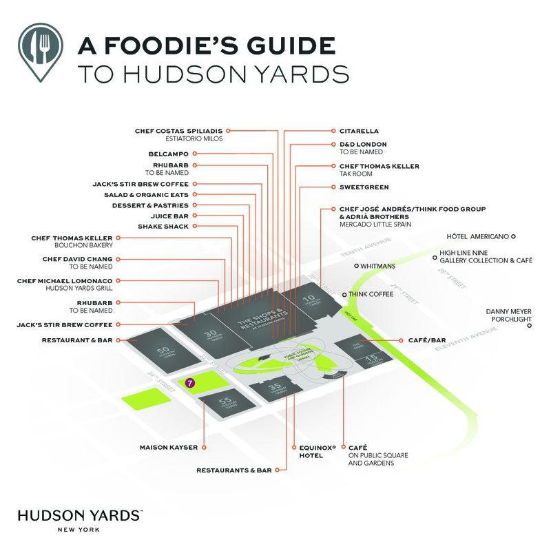 Hudson Yards dining guide