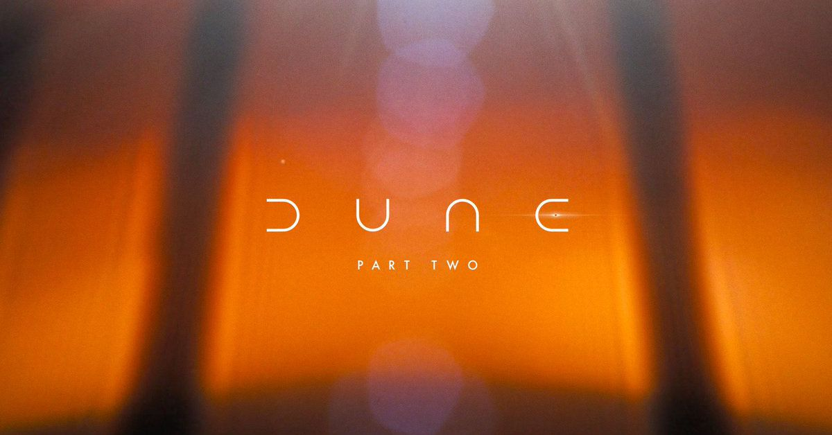 Dune: Part Two is officially happening to adapt the other half of the book