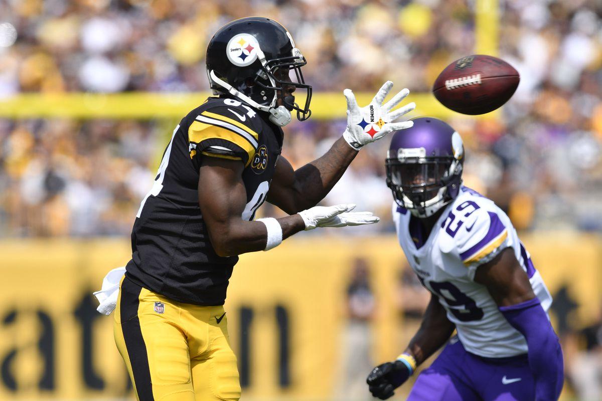 5bf578f8 Steelers vs. Vikings Week 2: 2nd quarter in-game update - Behind the ...