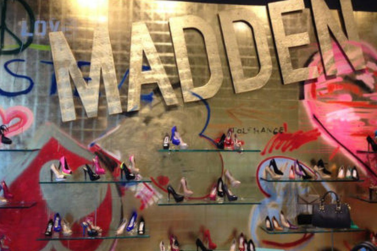 "Image via <a href=""http://www.wwd.com/footwear-news/retail/shop-talk-madden-hits-8-superdry-preps-la-spot-5800960?browsets=1331903561377"">Footwear News</a>"