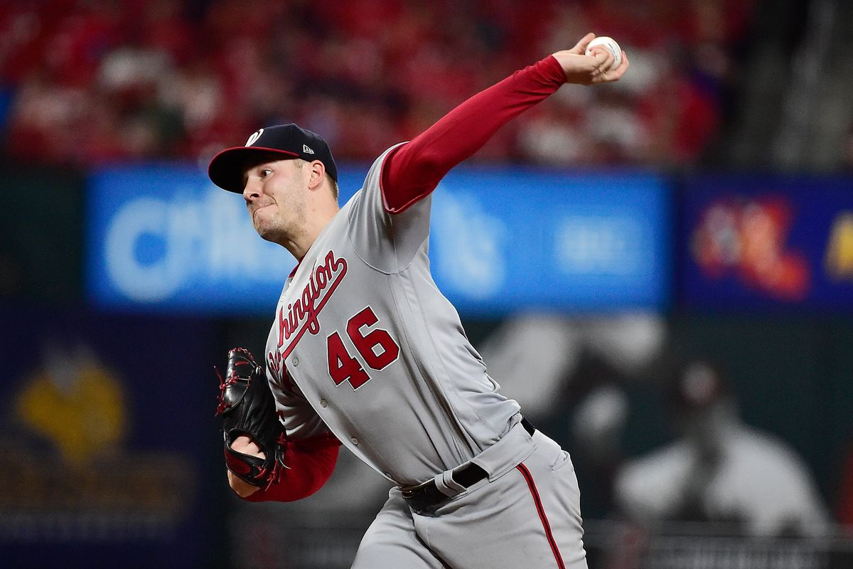 Nationals' lefty Patrick Corbin and his slider beat the Cardinals, 6-2 final...