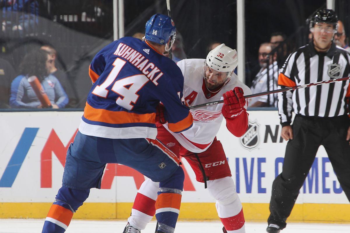 Detroit Red Wings v New York Islanders