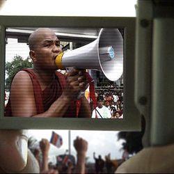 """A scene from """"Burma VJ"""""""