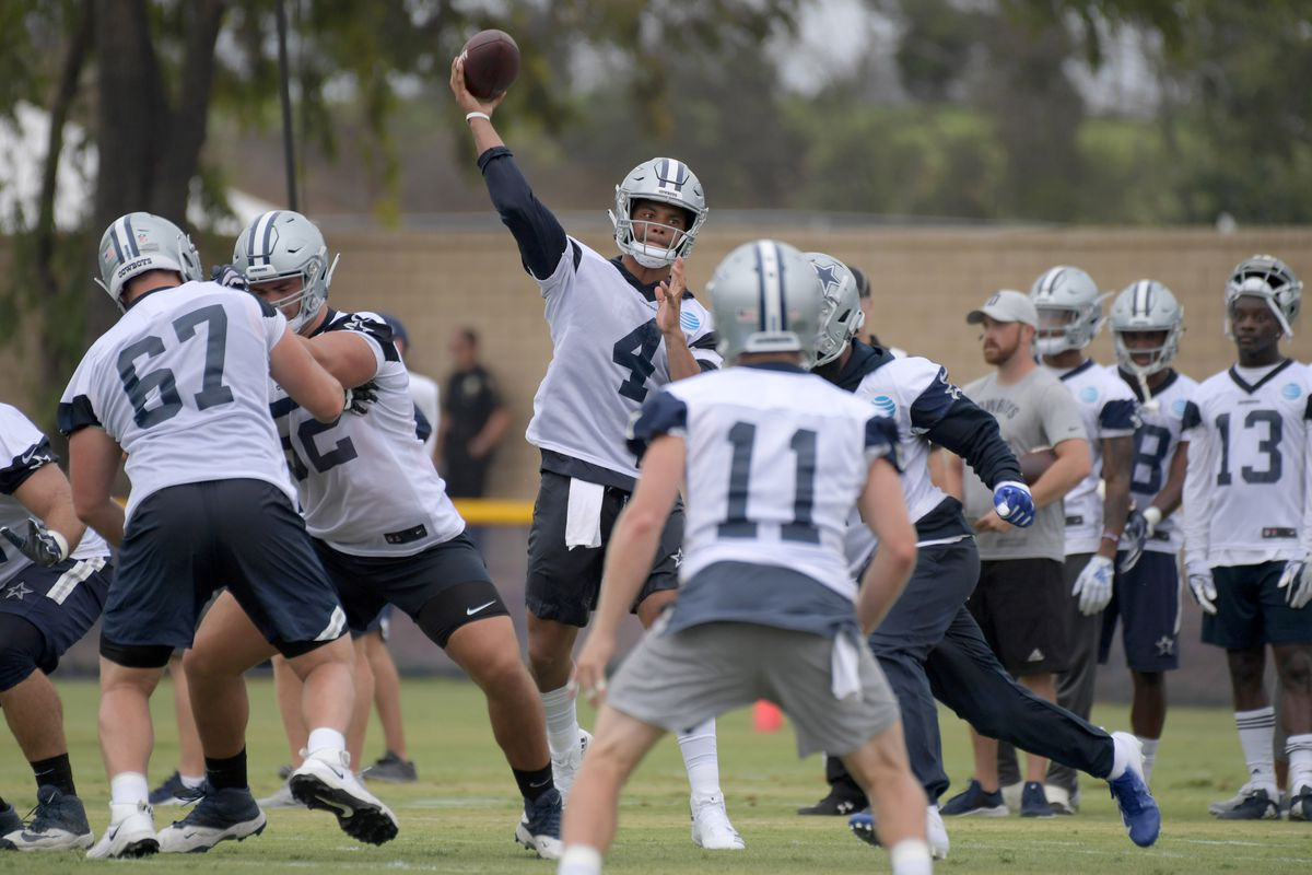 Cowboys training camp news   notes  Highlights from Day Two ... 40750194b