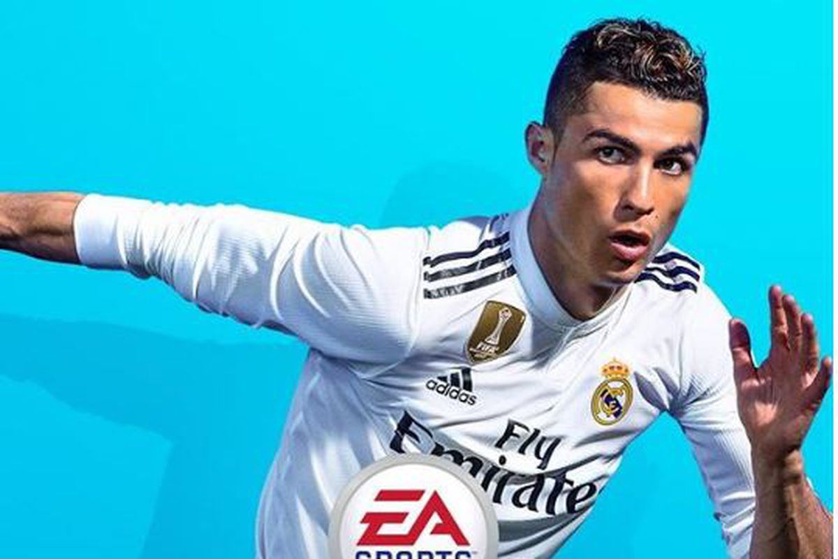 Ea Sports Revealed Their Fifa  Cover On Thursday And It Features Cristiano Ronaldo Wearing Real Madrids Jersey For The   Season