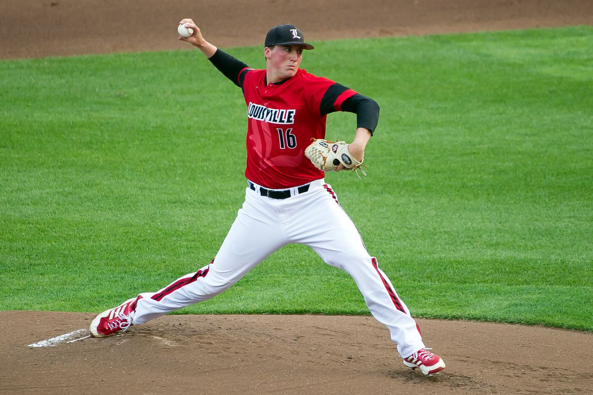 Kyle Funkhouser, who could be on the board when the Cubs make their first-round pick