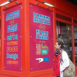 The Chelsea Market sign back in December