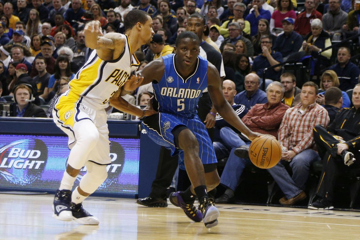 George Hill and Victor Oladipo
