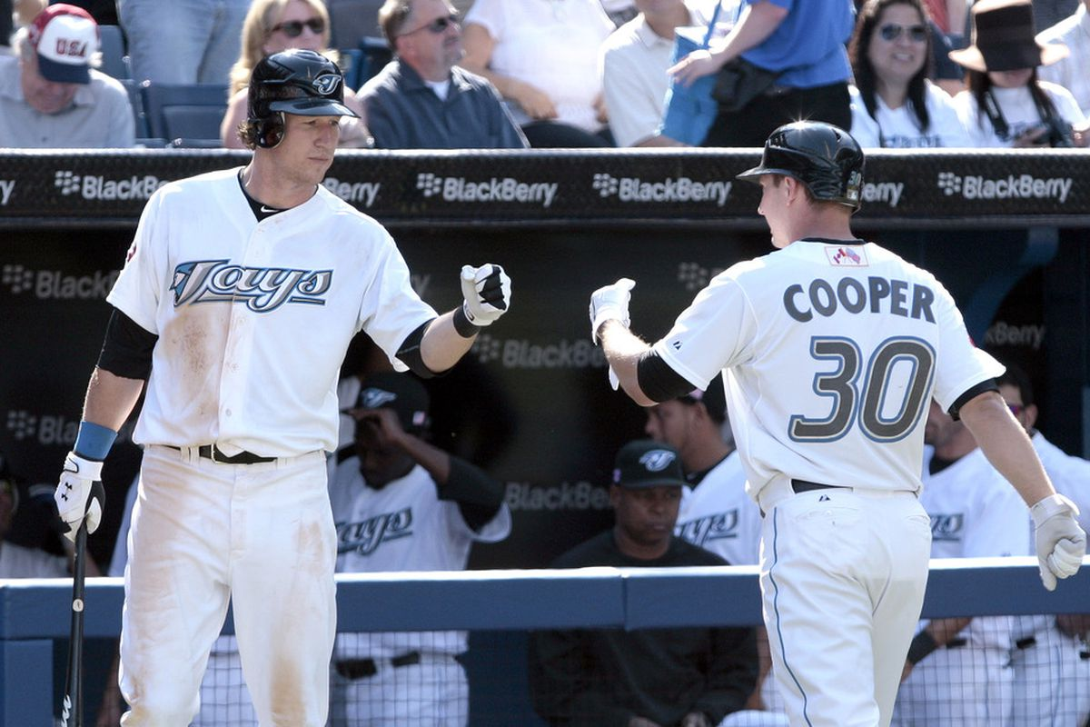 David Cooper's back. (Photo by Abelimages/Getty Images)