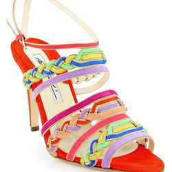 """<a href=""""https://www.stanleykorshak.com/products/Multi-Color-Suede-Altair/4833"""">Brian Atwood Multi-Color Suede Altair</a>, $279"""