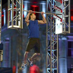 "Utah resident Karson Voiles competes during the Denver city finals of ""American Ninja Warrior."""